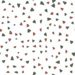 Scattered triangles pink and green web